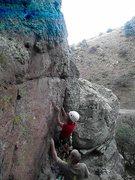 Rock Climbing Photo: FA Rocket Man