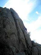 Rock Climbing Photo: FA Luna Barr