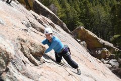 Rock Climbing Photo: The bulge has a great flake at the top to grab. Af...
