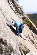 Rock Climbing Photo: Super fun movement through this section.