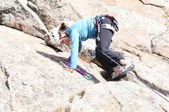 Rock Climbing Photo: Nice new anchor bolts at the top.  There are not c...