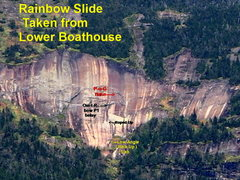 Rock Climbing Photo: Rainbow actually taken from the top of Fish hawk/I...