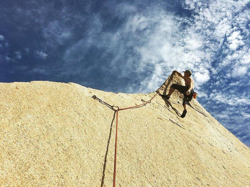 Rock Climbing Photo: Leif
