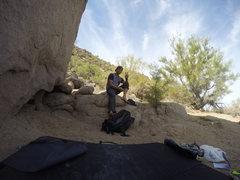 Rock Climbing Photo: after climbing pencil thin right at beardsley boul...