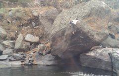 Rock Climbing Photo: Sam gettin' mechanical.