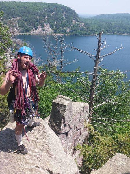 Rock Climbing Photo: Summit of turks