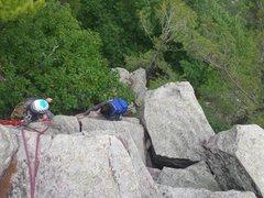 Rock Climbing Photo: Turk