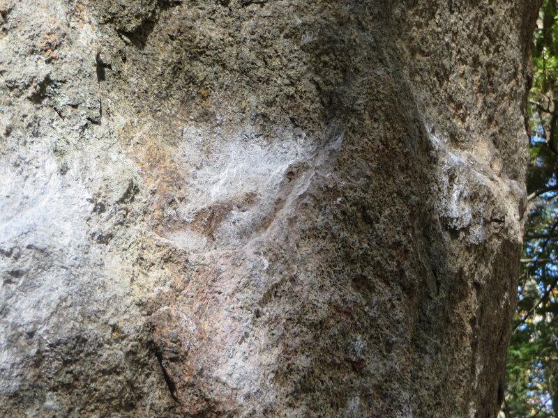 Rock Climbing Photo: Broken Hold
