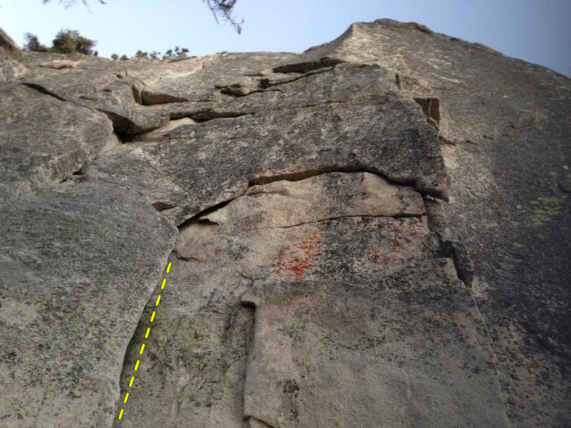 Rock Climbing Photo: Aurora Borealis Start