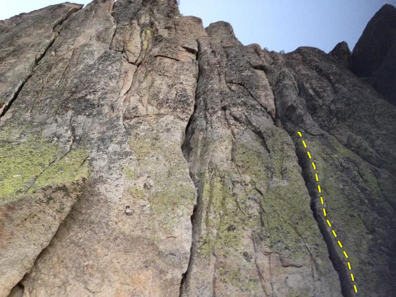 Rock Climbing Photo: black bart