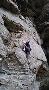 Rock Climbing Photo: King Ducky, Sport 5.5, RRG October 2016  My first ...