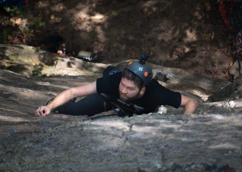 Rock Climbing Photo: Fodiqua, Sport 5.9, RRG October 2016
