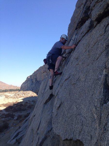 Rock Climbing Photo: Me at Riverside Quarry
