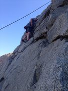 Rock Climbing Photo: Me at Riverside Quarry