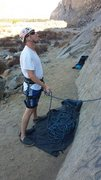 Rock Climbing Photo: Brother in law Joe at Riverside Quarry