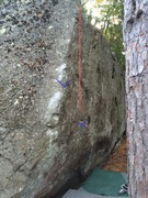 Rock Climbing Photo: The line