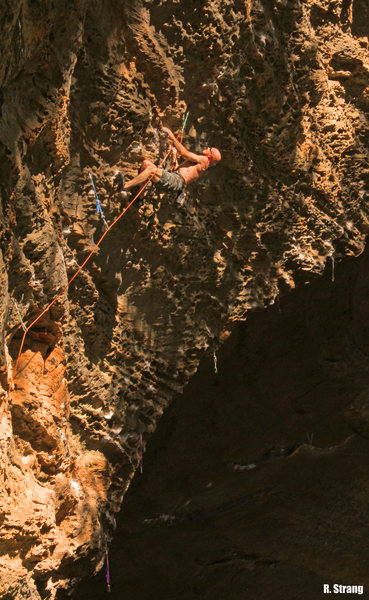 Rock Climbing Photo: Dave Harding cruises the lower stuff Easy Rider (5...