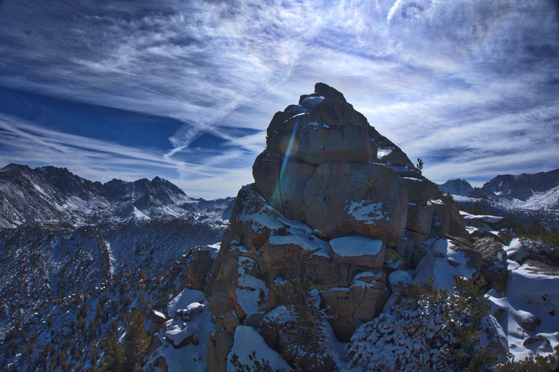 Rock Climbing Photo: Summit rocks of Table Mountain, after late October...