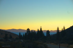 Rock Climbing Photo: Dawn over the White  Mountains from Bitterbrush Ca...