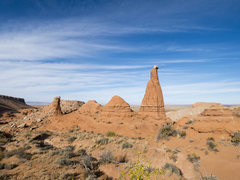 Rock Climbing Photo: Lost Sparrow Spire viewed from south