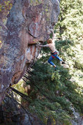 Rock Climbing Photo: How about a fresh photo? Weldon just before the 4t...