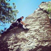 Rock Climbing Photo: Clark Canyon Area 13