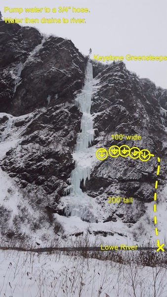 Rock Climbing Photo: Possible Ice Farm. MP is the simplest program to d...