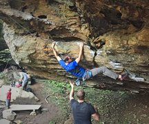 Rock Climbing Photo: Spider Monkey, Red River Gorge