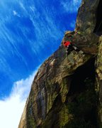 Rock Climbing Photo: Mario Mariola on Shadowline!!!