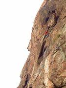 Rock Climbing Photo: Almost to das Headwall!!!!