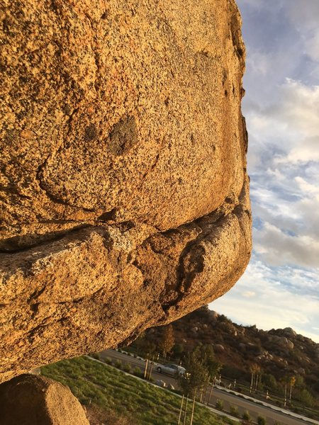 Rock Climbing Photo: Detail.