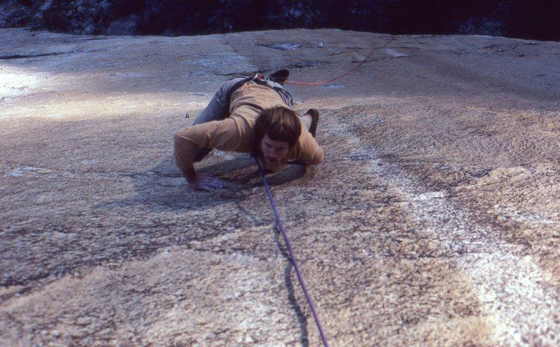 Rock Climbing Photo: Bit O Honey - 3rd pitch