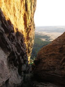 Rock Climbing Photo: Max S. Just entering the deeper section of the Chi...