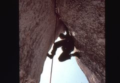 Rock Climbing Photo: Muscle Butt - Picnic Area
