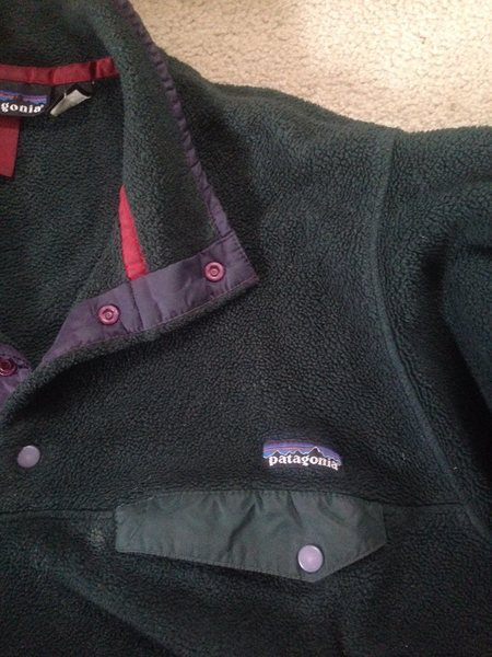 Patagonia Synchilla Snap T Green 3
