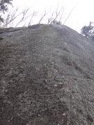 "Rock Climbing Photo: Looking up ""On the Tweak Again."""