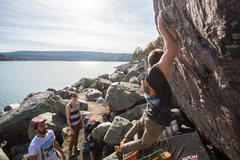 Rock Climbing Photo: View from the boulder