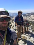 Rock Climbing Photo: A top Matthes crest in the meadows getting ready t...
