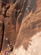 Rock Climbing Photo: That hot rock though, Moab of course