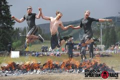 Rock Climbing Photo: Spartan races are fun, this fantastic finish was a...