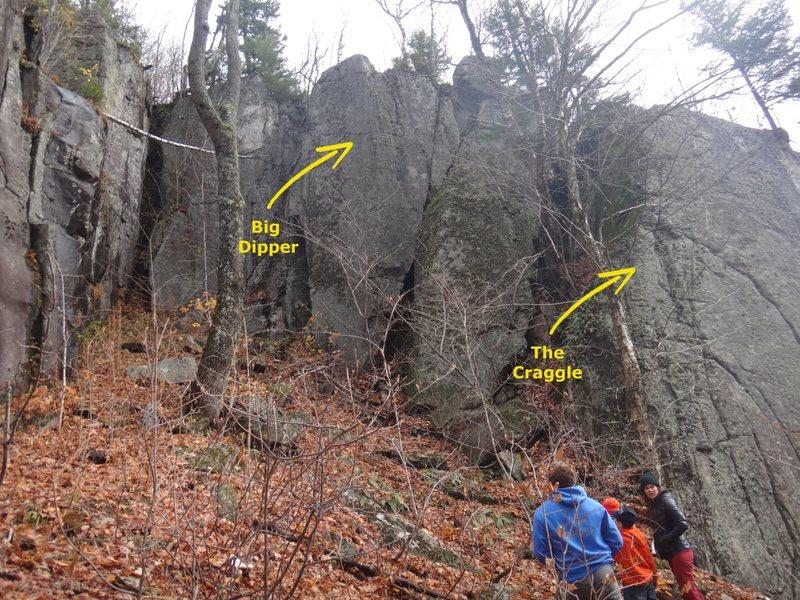 Rock Climbing Photo: Military Wall; Alcove