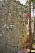 Rock Climbing Photo: FA of Southern Fist