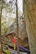Rock Climbing Photo: Brad Mathisen on Shaolin Style