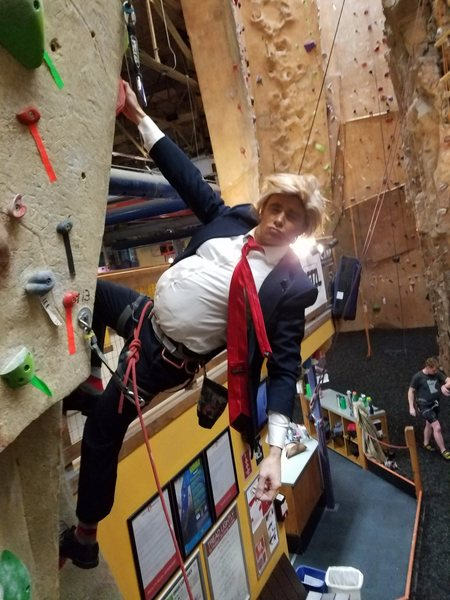 Everybody tells me I am the best climber