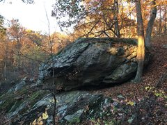 Rock Climbing Photo: Hog Rock, North Face, just North of the top of the...
