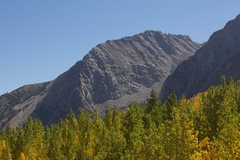 Rock Climbing Photo: East Ellery Ridge from the Warren Creek pullout on...