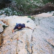 "Rock Climbing Photo: Climbing ""Cous cous fest"" (6b) near San ..."