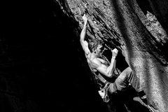 Rock Climbing Photo: Entering the Crux
