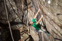 Rock Climbing Photo: Crimpin