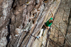 Rock Climbing Photo: more crimpin